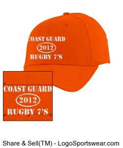 CG Rugby Ballcap 2012 Design Zoom